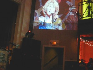 suzanne on big screen